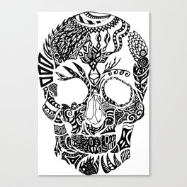 Dia de los muertos by Floris V Canvas Print