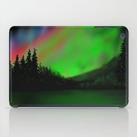 northern lights iPad Cases featuring Northern Lights by Turul
