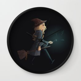 witchy emma Wall Clock