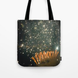 4th of July in Seattle Tote Bag