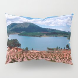 Magic Lake of Central Highland in Vietnam Pillow Sham