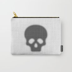 Halftone Skull Carry-All Pouch