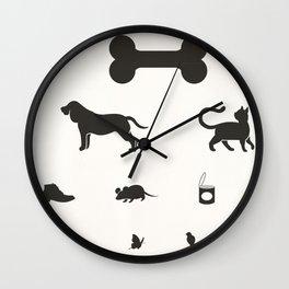 eye test for dog Wall Clock