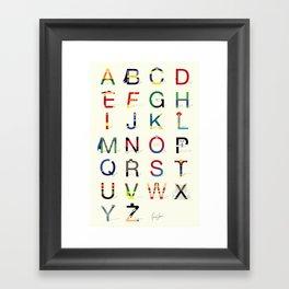 ABC SH (Option 2) Framed Art Print