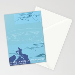 Architect -  Oscar Niemeyer Stationery Cards