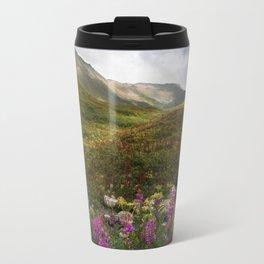 Fireweed & Fall in Alaska  Travel Mug