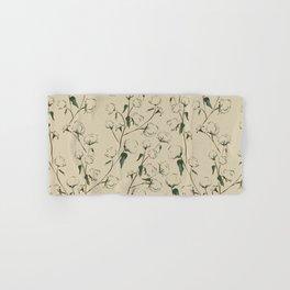 Cotton Bolls Hand & Bath Towel