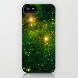 733. Bright Lights, Green City iPhone Case