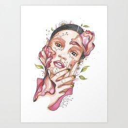 I am nature Art Print