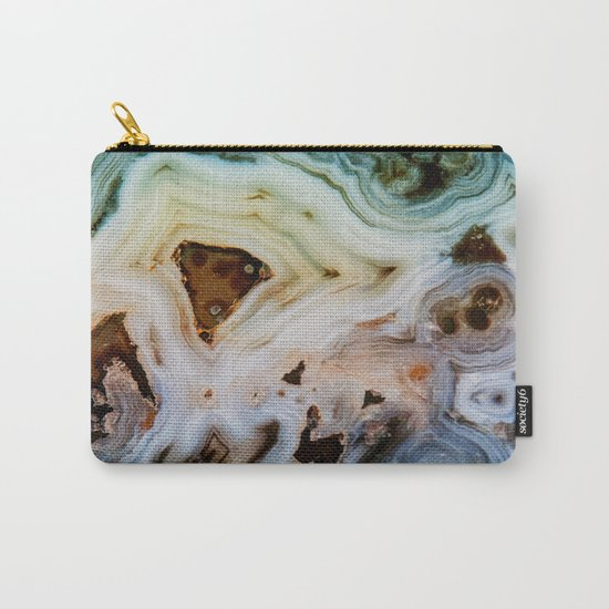 THE BEAUTY OF MINERALS Carry-All Pouch