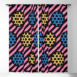 Polka Dot Stripe Pattern 321 Blackout Curtain