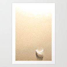 Light as a  Art Print