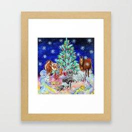 Compassionate Christmas Framed Art Print