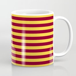 Minnesota Team Colors Stripes Coffee Mug