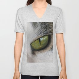 The Eye of the Domesticated Tyger Unisex V-Neck