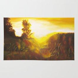 Dancing Sunset Rug