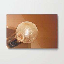 Dirty, Dingy Light Bulb Metal Print