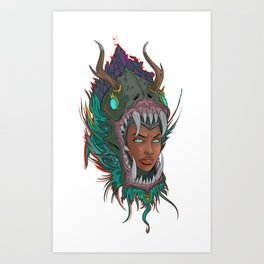 The World Hungers Art Print