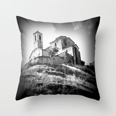Spanish Iglesia Throw Pillow