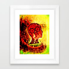 heads high. Framed Art Print