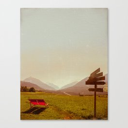 Vintage Holiday Canvas Print