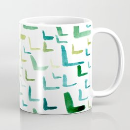 Painted L Coffee Mug