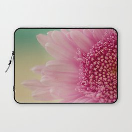 Pink bursts, Floral Macro Photography Laptop Sleeve