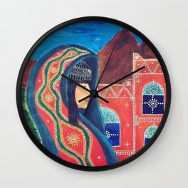 Balqees Alyemen Wall Clock