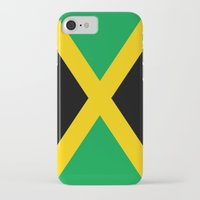 jamaica iPhone & iPod Cases featuring Jamaica by RickART