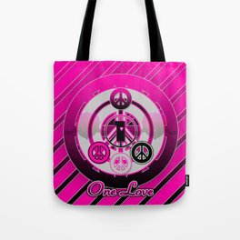 One Love (Pink) Tote Bag