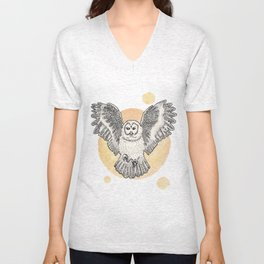 Owl Be Back Unisex V-Neck