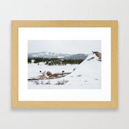 Soda Butte Framed Art Print