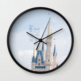 #happyplace Wall Clock
