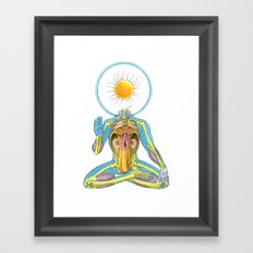 Yonilingam Framed Art Print