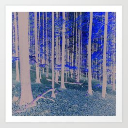 TREES Duvet Cover by Mackin & SO MUCH MORE Art Print
