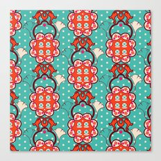 Creative pattern Canvas Print