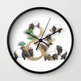 malayan tapir Wall Clock