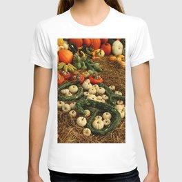 Autumn Time Harvest Time T-shirt