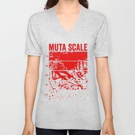 Muta Scale Unisex V-Neck