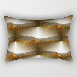 Golden Lace in the mountains... Rectangular Pillow