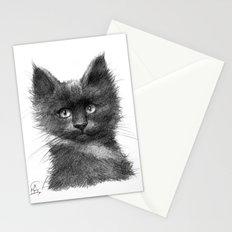 Black Kitten SK135 Stationery Cards