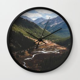 Climbing Independence Pass Wall Clock