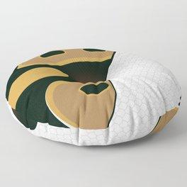 Piebald Ball Python Floor Pillow