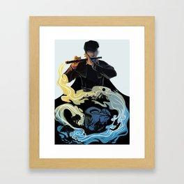 Wit Framed Art Print