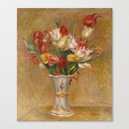 "Auguste Renoir ""Tulipes (Tulips)"" Canvas Print"