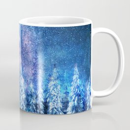 Forest under the Starlight Coffee Mug
