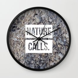 Nature Calls | 5 Wall Clock