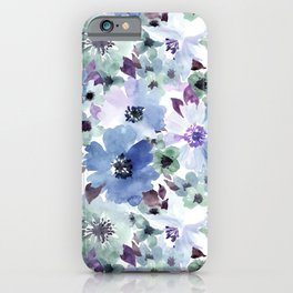 FLOWERS WATERCOLOR 20 iPhone Case