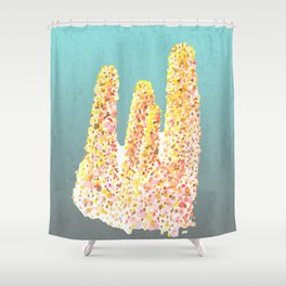 unicorn of the corals Shower Curtain