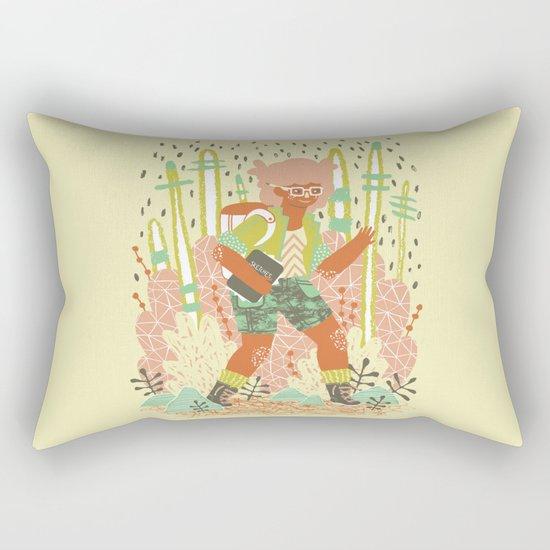 Searching for Inspiration Rectangular Pillow
